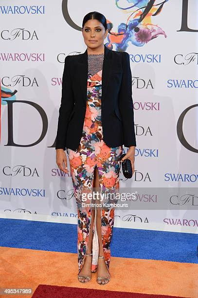 Rachel Roy attends the 2014 CFDA fashion awards at Alice Tully Hall Lincoln Center on June 2 2014 in New York City