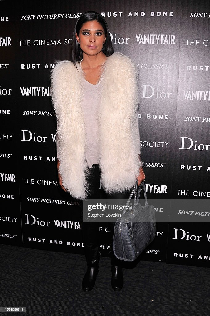 Rachel Roy attends The Cinema Society with Dior & Vanity Fair screening of 'Rust And Bone' at Landmark Sunshine Cinema on November 8, 2012 in New York City.