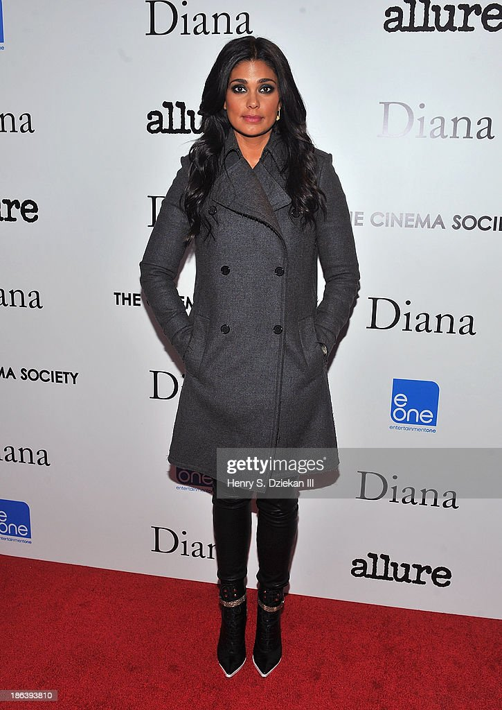 Rachel Roy attends The Cinema Society with Linda Wells & Allure Magazine premiere of Entertainment One's 'Diana' at SVA Theater on October 30, 2013 in New York City.