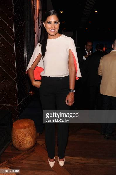 Rachel Roy attends the Cinema Society with Rachel Roy Circa screening Of 'Trishna' after party at The Jimmy at the James Hotel on July 10 2012 in New...