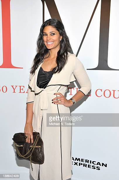 Rachel Roy attends the exhibition opening night gala for 'Impact 50 Years of the CFDA' at The Fashion Institute of Technology on February 9 2012 in...