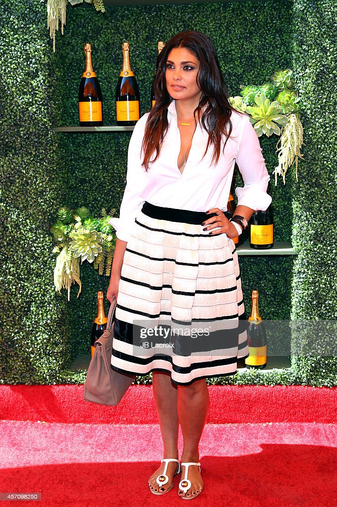 Rachel Roy attends the FifthAnnual Veuve Clicquot Polo Classic at Will Rogers State Historic Park on October 11 2014 in Pacific Palisades California