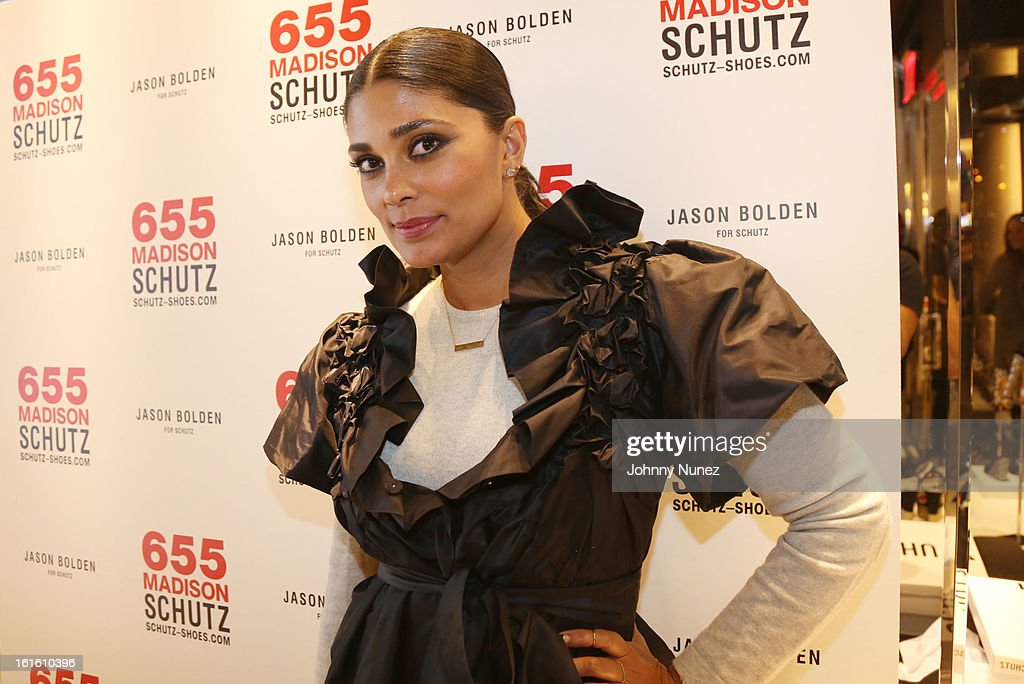 Rachel Roy attends the Jason Bolden For SCHUTZ Launch at Schutz on February 12, 2013 in New York City.