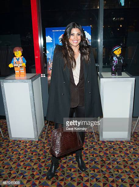 Rachel Roy attends 'The LEGO Movie' screening hosted by Warner Bros Pictures and Village Roadshow Pictures at AMC Empire 25 theater on February 5...