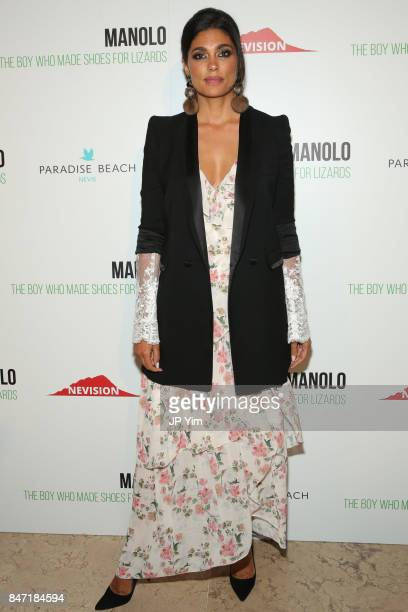 Rachel Roy attends the premiere of 'Manolo The Boy Who Made Shoes for Lizards' hosted by Manolo Blahnik with The Cinema Society at The Frick...
