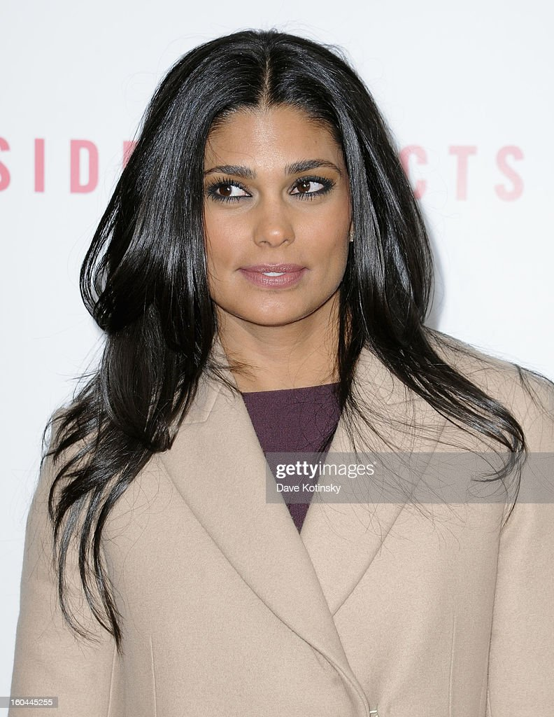 Rachel Roy attends the premiere of 'Side Effects' hosted by Open Road with The Cinema Society and Michael Kors at AMC Lincoln Square Theater on January 31, 2013 in New York City.