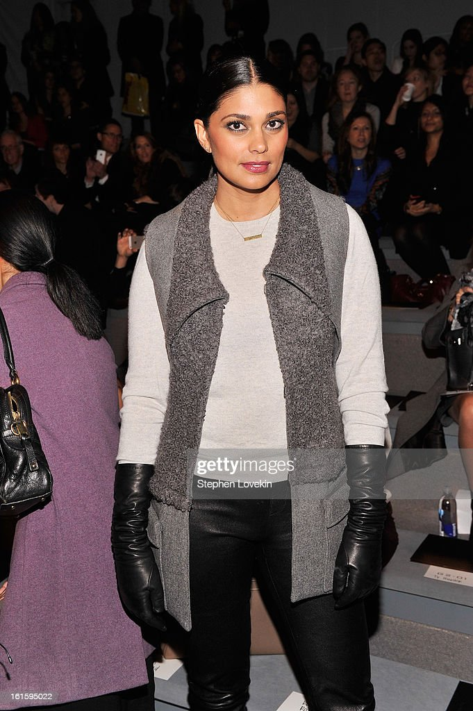 Rachel Roy attends the Vera Wang Fall 2013 fashion show during Mercedes-Benz Fashion Week at The Stage at Lincoln Center on February 12, 2013 in New York City.