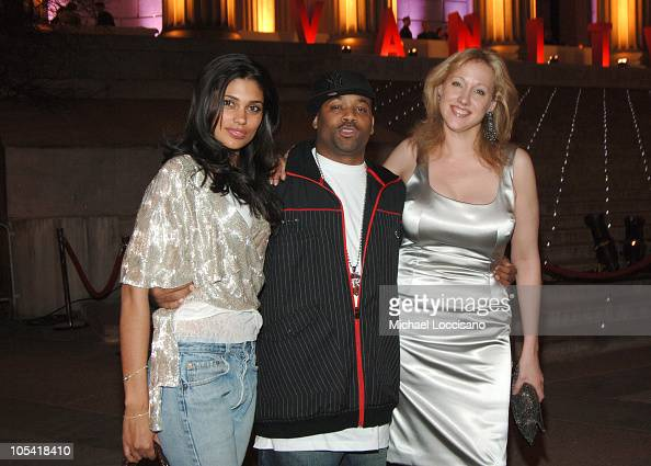 Rachel Roy Damon Dash and Amy Sacco during 4th Annual Tribeca Film Festival Vanity Fair Party at New York Supreme Court in New York City New York...