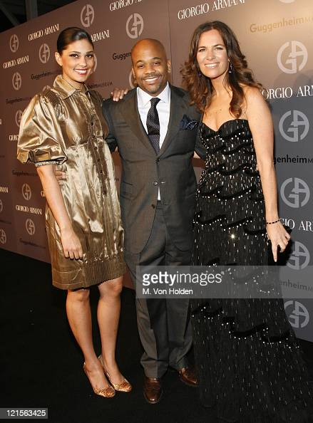 Rachel Roy Damon Dash and Roberta Armani during Solomon R Guggenheim Museum's Young Collectors Council 2006 Artist's Ball Sponsored by Giorgio Armani...