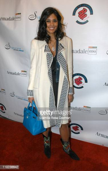 Rachel Roy during Patricia Field for the House of Rocawear Lounge at Ono at the Hotel Gansevort in New York City New York United States