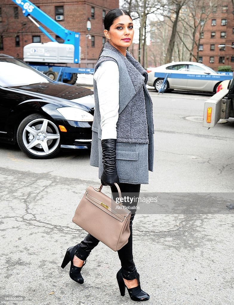 Rachel Roy is seen on February 12, 2013 in New York City.