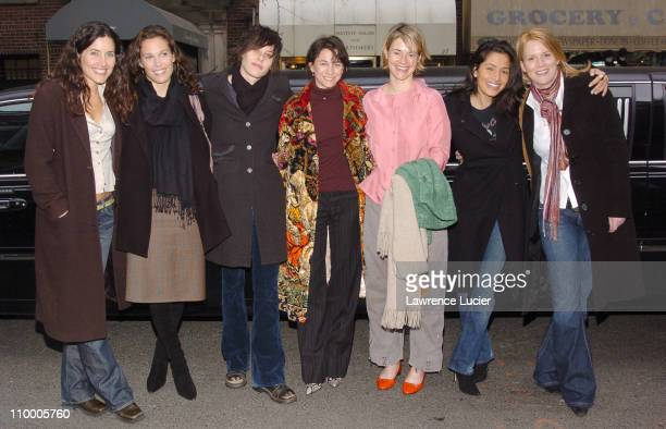 Rachel Shelley Erin Daniels Katherine Moennig Executive Producer Ilene Chaiken Leisha Hailey Sarah Shahi and Laurel Holloman