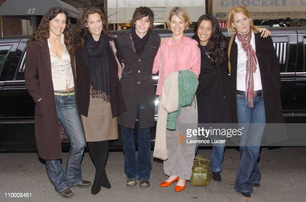 Rachel Shelley Erin Daniels Katherine Moennig Leisha Hailey Sarah Shahi and Laurel Holloman