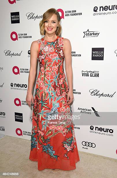 Rachel Skarsten attends the Elton John AIDS Foundation's 23rd annual Academy Awards Viewing Party at The City of West Hollywood Park on February 22...