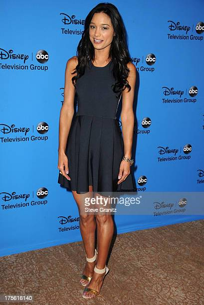 Rachel Smith arrives at the 2013 Television Critics Association's Summer Press Tour Disney/ABC Party at The Beverly Hilton Hotel on August 4 2013 in...