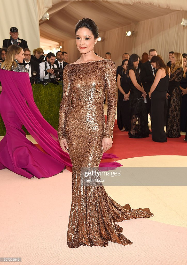 Rachel Smith attends 'Manus x Machina: Fashion In An Age Of Technology' Costume Institute Gala at Metropolitan Museum of Art on May 2, 2016 in New York City.