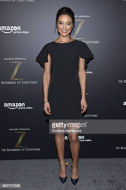 Rachel Smith attends the premiere event for Amazon Prime Video's Z THE BEGINNING OF EVERYTHING on January 25 2017 in New York City