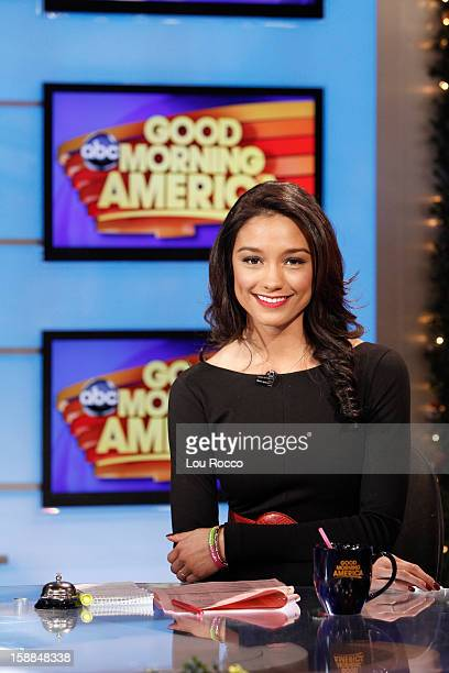 AMERICA Rachel Smith coanchors 'Good Morning America' 12/28/12 airing on the ABC Television Network RACHEL