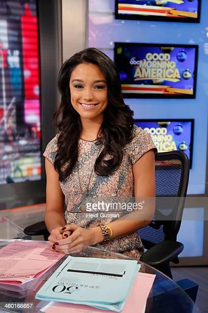 AMERICA Rachel Smith on 'Good Morning America' 1/2/14 airing on the ABC Television Network RACHEL