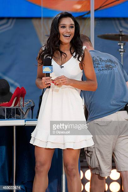 Rachel Smith visits ABC's 'Good Morning America' at Rumsey Playfield Central Park on August 1 2014 in New York City