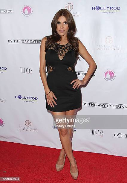 Rachel Sterling arrives at 'Breakfast at Tiffany's' benefiting the HollyRod Foundation for Autism and Parkinson's Disease at Tiffany's On Vine on...