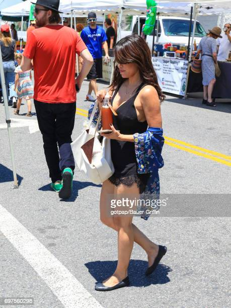 Rachel Sterling is seen on June 18 2017 in Los Angeles California