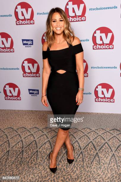 Rachel Stevens arrives at the TV Choice Awards at The Dorchester on September 4 2017 in London England