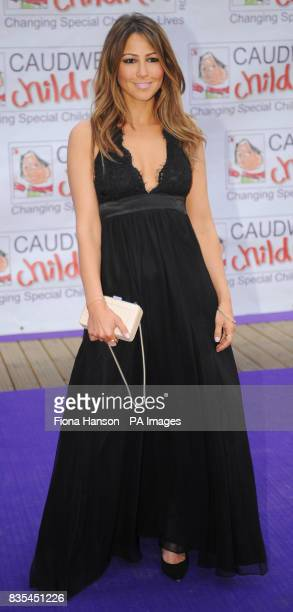 Rachel Stevens arrives for the Butterfly Ball in Battersea Park London The event by Caudwell Children aims to raise funds for disabled children