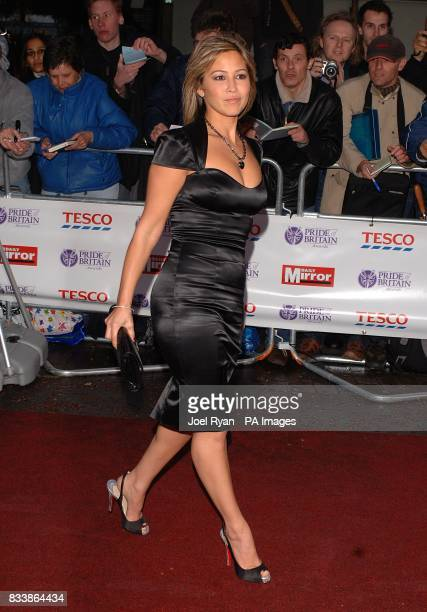 Rachel Stevens arrives for the Pride of Britain Awards 2007 The London Studios Upper Ground London SE1