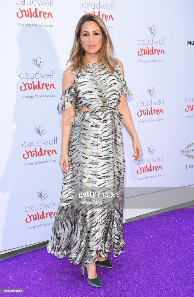 Rachel Stevens attends the Caudwell Children Butterfly Ball at Grosvenor House on May 25, 2017 in London, England.