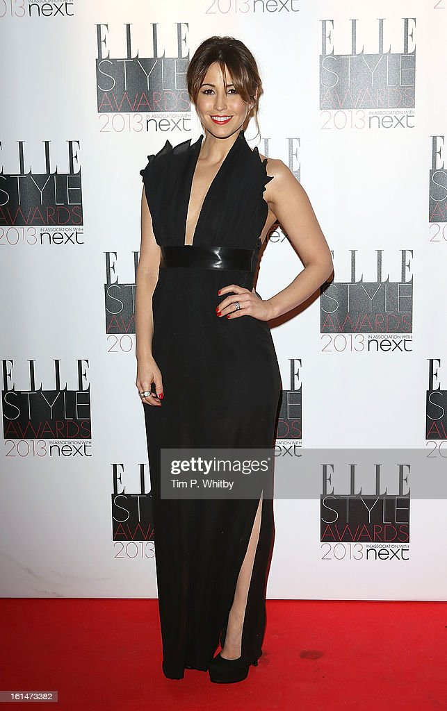 Rachel Stevens attends the Elle Style Awards at Savoy Hotel on February 11, 2013 in London, England.