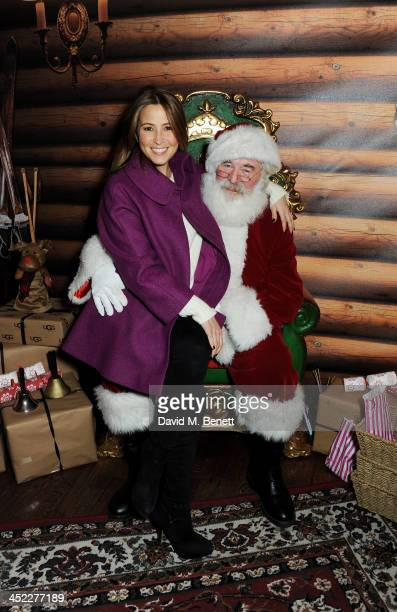 Rachel Stevens attends the launch of the UGG Christmas Grotto at Duke of York Square on November 27 2013 in London England