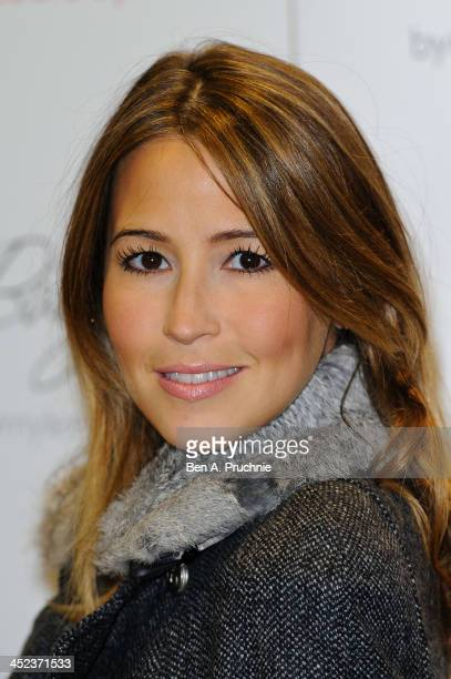 Rachel Stevens attends the Mothercare VIP Christmas party at the newly refurbished Oxford Street Store at Mothercare Oxford Street on November 28...