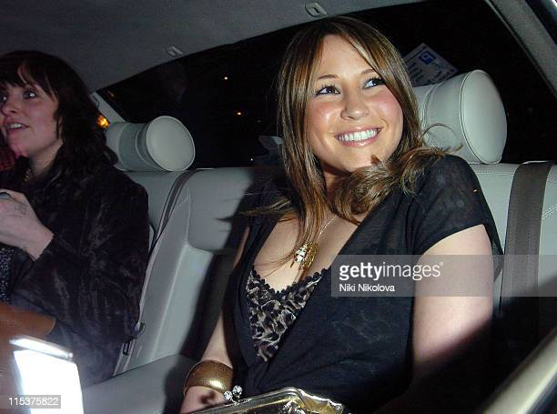 Rachel Stevens during Adler's 20th Anniversary Party Arrivals at No 5 Cavendish Square in London Great Britain