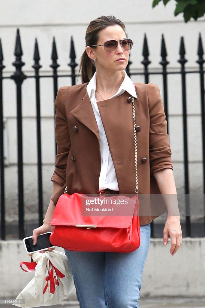 Rachel Stevens sighted in Primrose Hill on June 15, 2011 in London, England.