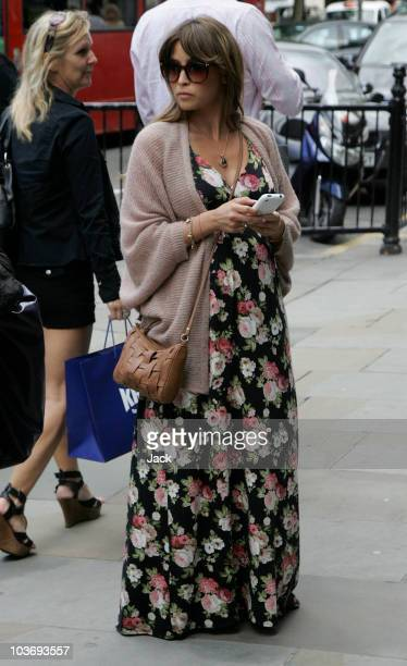 Rachel stevens sighted on the Fulham Road on August 28 2010 in London England