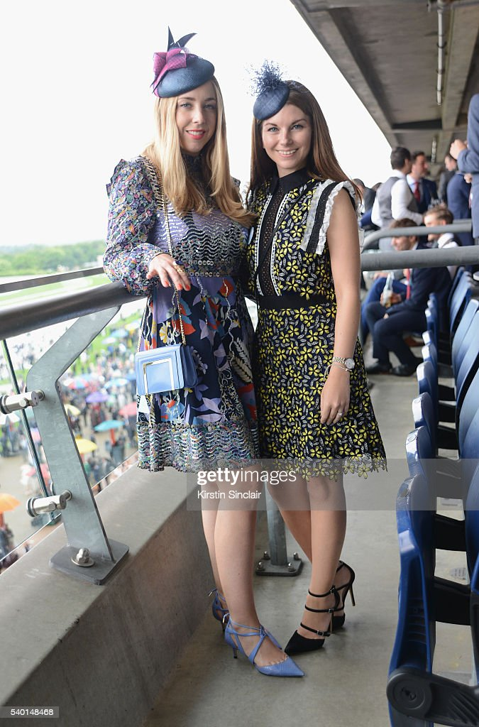 Rachel Story and Emma Chandler attend Day 1 of Royal Ascot at Ascot Racecourse on June 14 2016 in Ascot England
