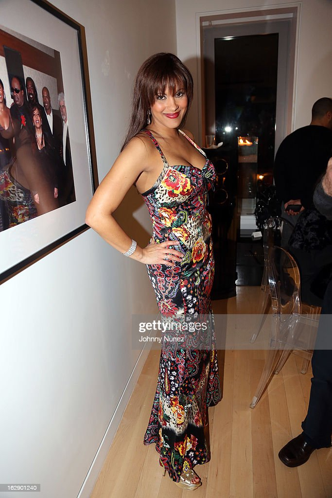 Rachel Stuart-Baker attends Kedar Massenburg's 50th Birthday Celebration at Water Fall Mansion on February 28, 2013 in New York City.