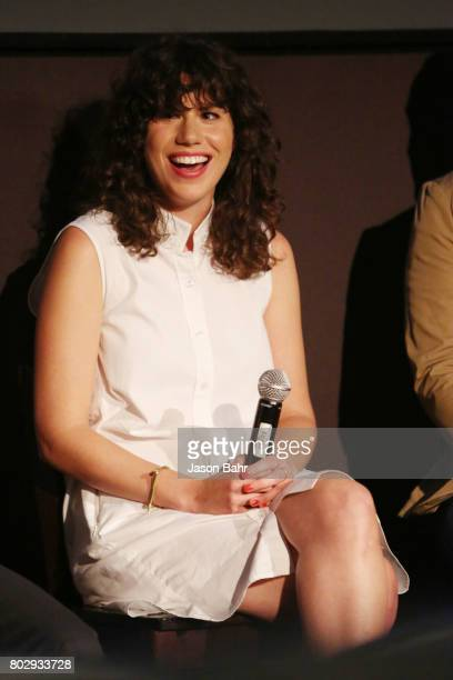 Rachel Traub smiles during the Warrior Poets panel discussion for SeriesFest Season 3 at Sie FilmCenter on June 28 2017 in Denver Colorado