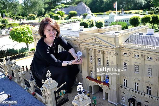 Rachel TrevorMorgan The Queen's milliner arranges LEGO figures of Camilla Duchess of Cornwall Queen Elizabeth II Catherine Duchess of Cambridge...