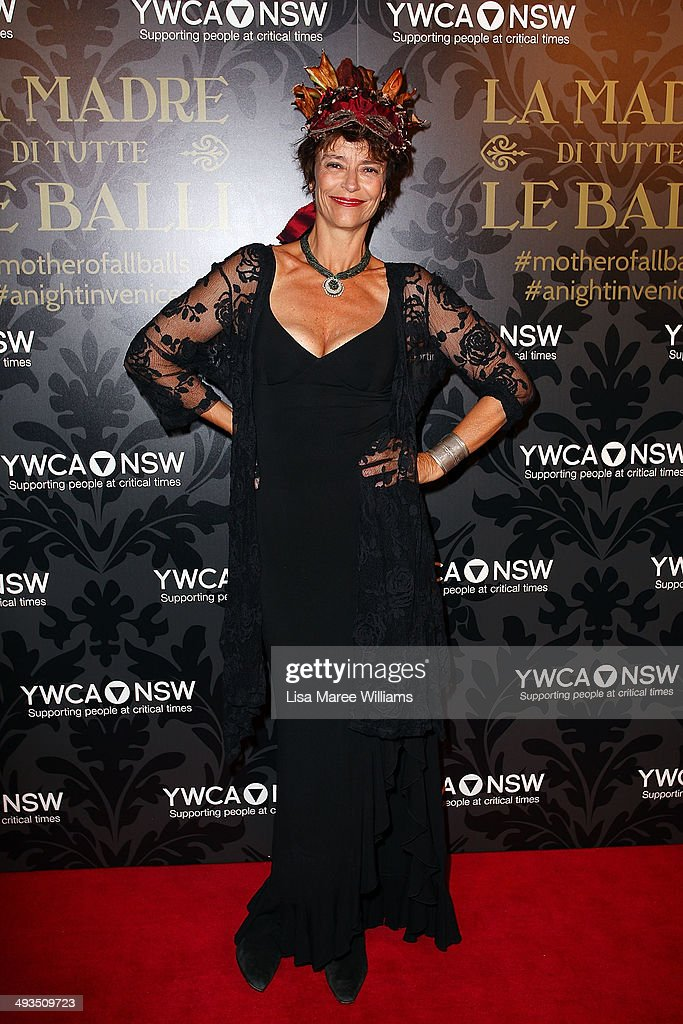 Rachel Ward attends the YMCA Mother of All Balls at Town Hall on May 24, 2014 in Sydney, Australia.