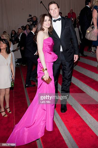 Rachel Weisz and Darren Aronofsky attend 'American Woman Fashioning A National Identity' Costume Institute Gala at The Metropolitan Museum of Art in...