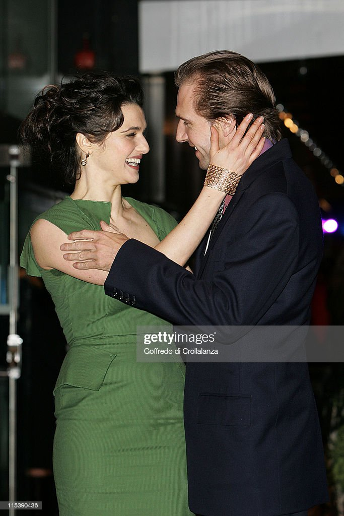 Rachel Weisz and Ralph Fiennes during The Times BFI 49th London Film Festival 'The Constant Gardener' Premiere at The Odeon Leicester Square in...