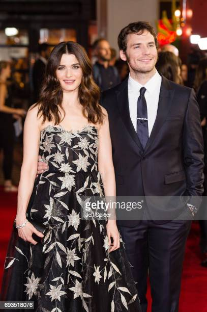 Rachel Weisz and Sam Claflin attend the World Premiere of 'My Cousin Rachel' at Picturehouse Central on June 7 2017 in London England