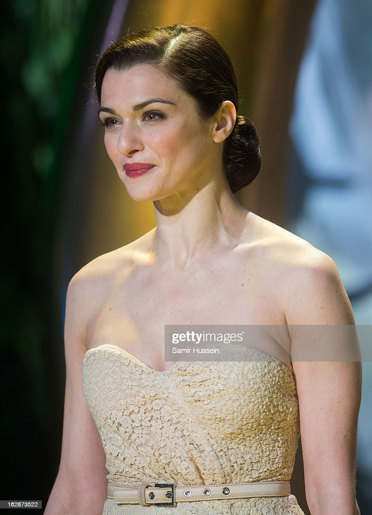 Rachel Weisz arrives for the 'Oz: The Great And Powerful' European premiere at the Empire Leicester Square on February 28, 2013 in London, England.