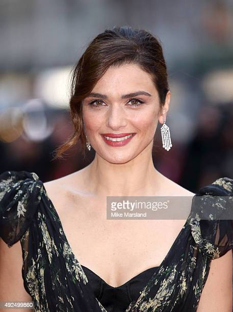 Rachel Weisz attends a screening of 'The Lobster' during the BFI London Film Festival at Vue West End on October 13 2015 in London England