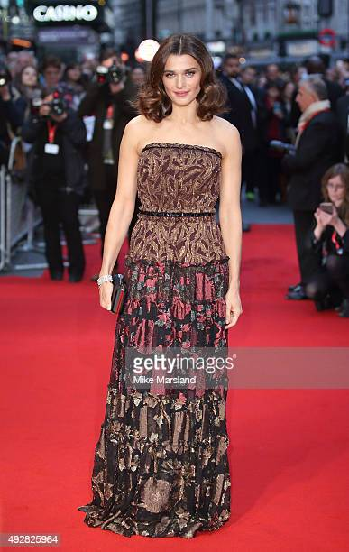 Rachel Weisz attends a screening of 'Youth' during the BFI London Film Festival at Vue West End on October 15 2015 in London England