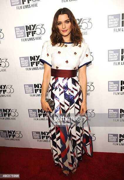 Rachel Weisz attends the 53rd New York Film Festival 'The Martian' Premiere Red Carpet at Alice Tully Hall on September 27 2015 in New York City