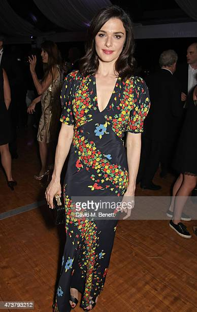 Rachel Weisz attends the 'Carol' party hosted by Chopard and Grey Goose at Baoli Beach Cannes Film Festival on May 17 2015 in Cannes France