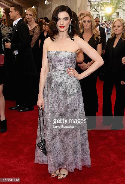 Rachel Weisz attends the 'China Through The Looking Glass' Costume Institute Benefit Gala at the Metropolitan Museum of Art on May 4 2015 in New York...